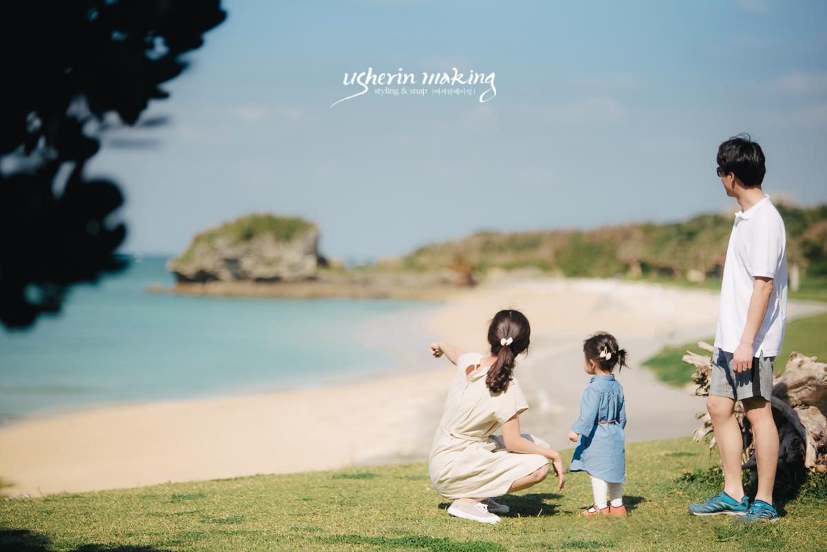 {usherinmaking:アッシャーリンメイキング}沖縄撮影、沖縄デート、沖縄記念撮影、沖縄家族写真