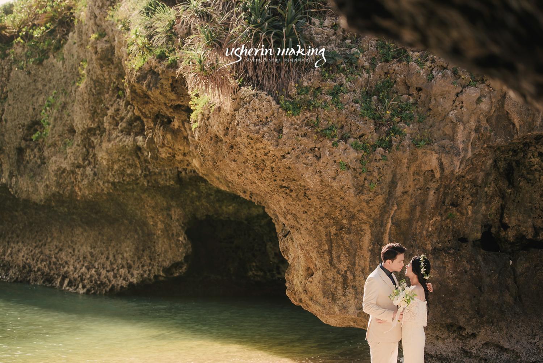 {usherinmaking: 沖縄ウェディング}沖縄ウェディング、沖縄ウェディング撮影、沖縄デート撮影、沖縄カップル撮影、沖縄記念写真